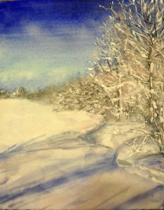 Handmade watercolor, acrylic, graphite