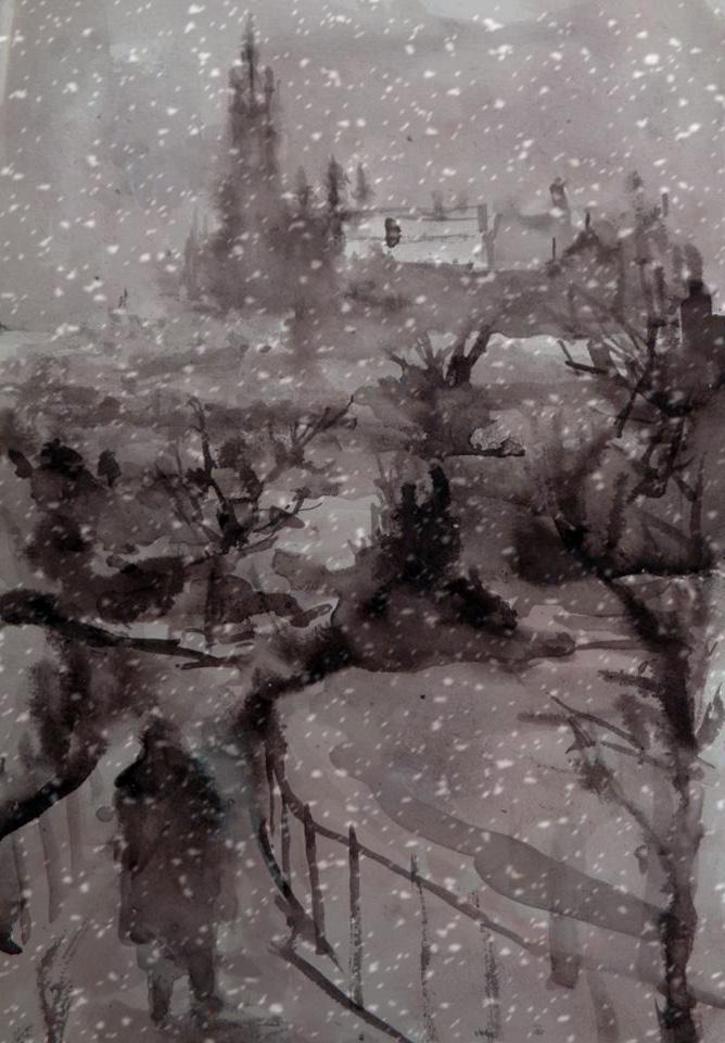 Snow Glasgow
