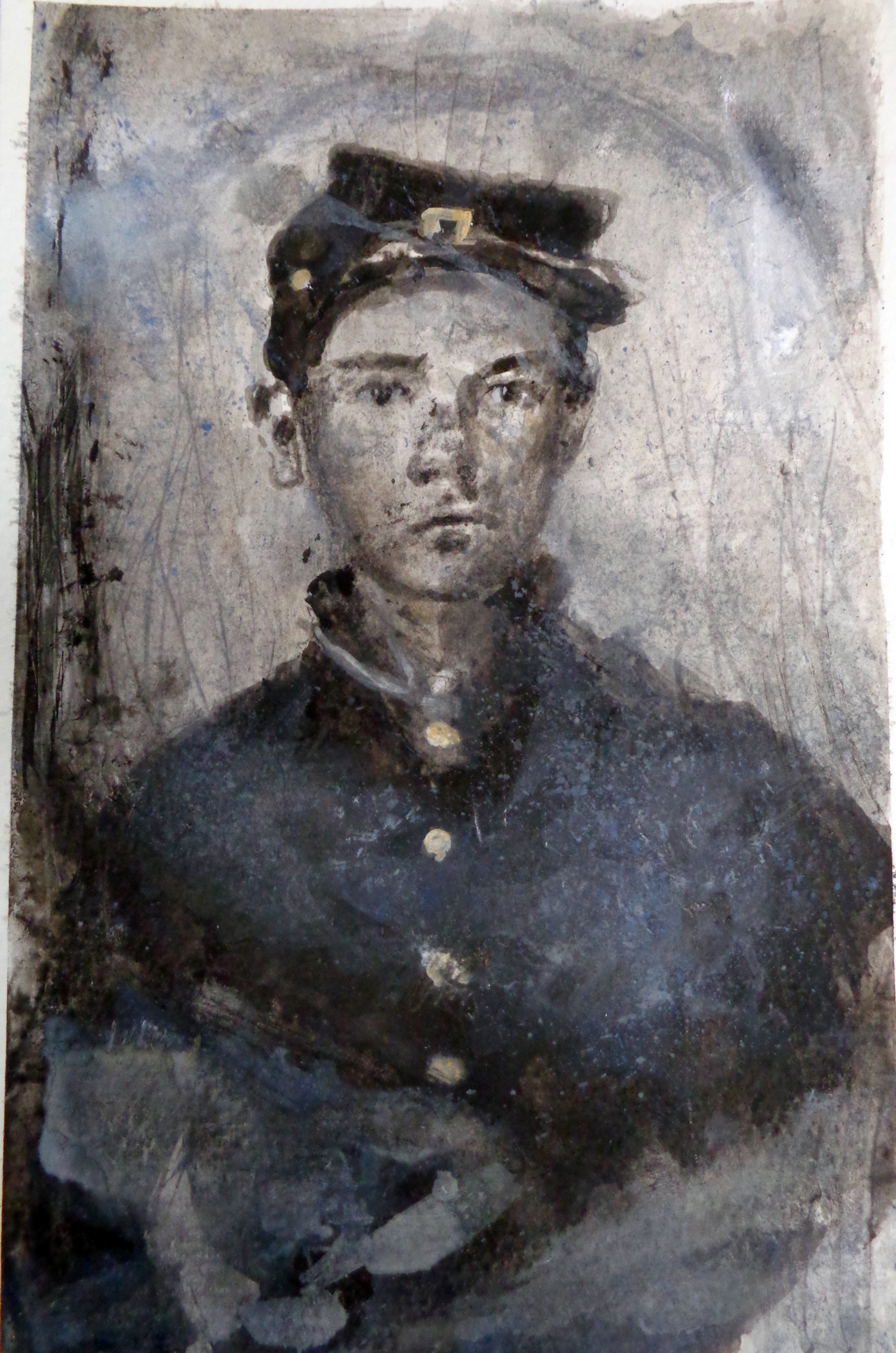 Marc Nelson | Paintings and Drawings Young Civil War Union Soldiers