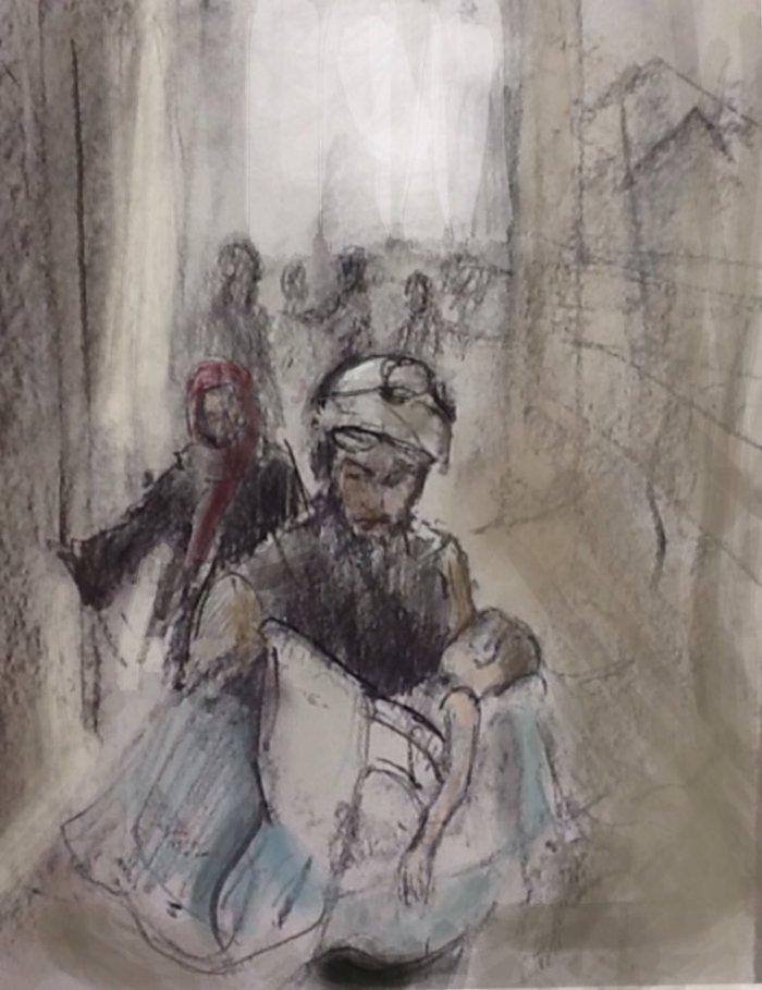 White Helmets, Idlib, Syria